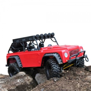 AB drive&fly DF-4S Crawler Brushed 4WD Red-Edition 1:10 RTR 2,4 GHz