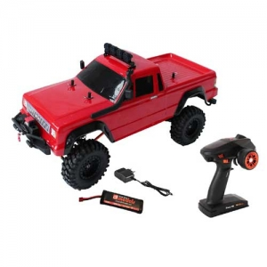 AB drive&fly DF-4S Scale Crawler Pick Up 313mm 4WD rot 1:10 RTR 2,4 GHz