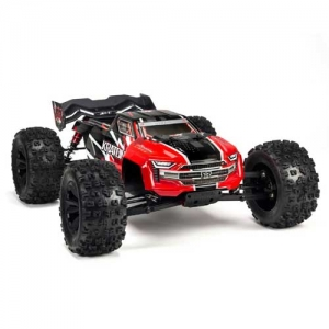 AB Arrma Kraton 6S Truggy BLX 4WD 1:8 Brushless rot RTR 2,4 GHz