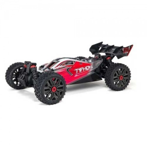 AB Arrma Typhon 3S Buggy BLX 4WD rot 1:8 Brushless RTR 2,4 GHz