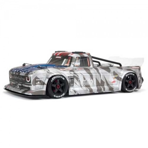 AB Arrma Infraction All-Road Street Bash 6S BLX 4WD 1:7 silber RTR 2,4 GHz