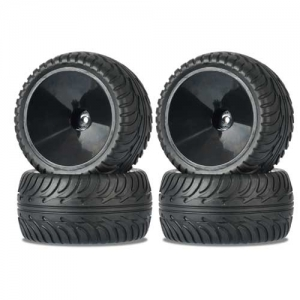 Reifenset Carson Monster 4WD ON-Road Set 1:10 4Stk 12mm