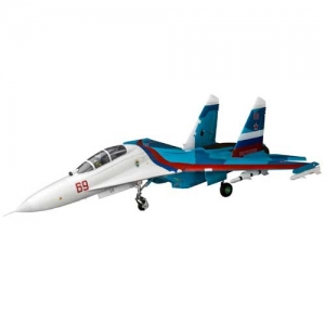 BK E-Flite SU-30 Twin 70mm EDF BNF Basic AS3X 1100 mm