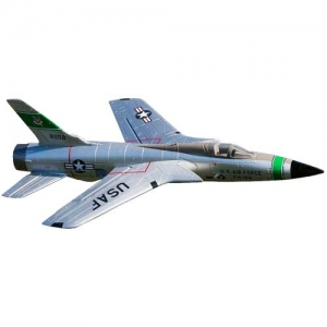 BK Freewing F-105 Thunderchief 3S EDF PNP 64er 530 mm