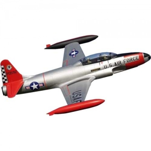 BK Freewing T-33 Shooting Star silber 6S EDF PNP 80er 1350 mm
