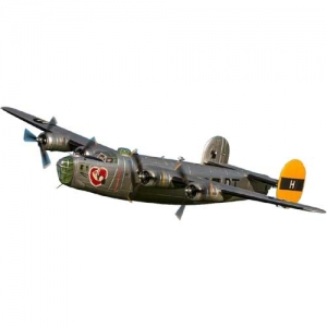BK Freewing B-24 Liberator silver PNP 2000 mm
