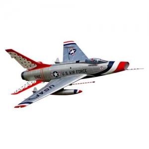 BK Premier Aircraft F-100D Impeller Jet mit Aura 8 PNP silber 1162 mm