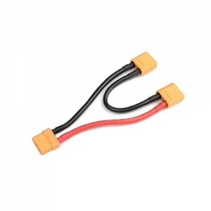 Serielles Kabel XT90 10AWG Silikon 12cm