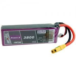 Lipo TopFuel Power-X 4er 14,8/3800 35C MTAG