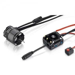 Brushless Combo Hobbywing Xerun Axe540 FOC Combo V1.1 Rock Crawler 1200kv