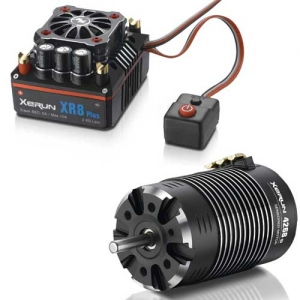 Brushless Combo Hobbywing Xerun XR8 Plus 3-6s Motor 4268-2600kV 1:8 On Road