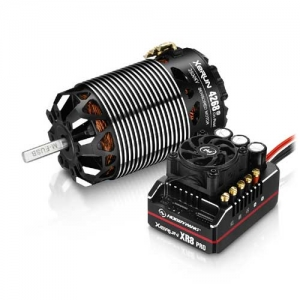 Brushless Combo Hobbywing Xerun XR8 Pro G2 2-4s Motor 4268-2800kV On Road