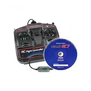 Flugsimulator AeroFly RC7 Standard DVD mit USB-Commander