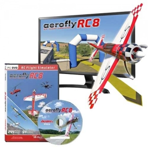 Flugsimulator AeroFly RC8 DVD Windows