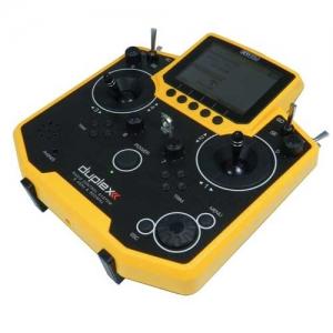 Sender Jeti Duplex DS-12 Handsender 2,4 GHz Multimode gelb