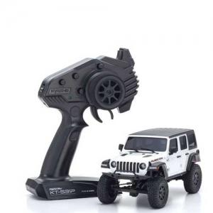 AB Kyosho Mini-Z 4X4 MX-01 Jeep Wrangler Rubicon Bright White RTR 2,4 GHz