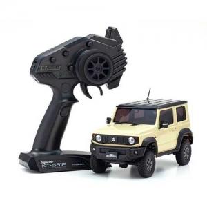 AB Kyosho Mini-Z 4X4 MX-01 Suzuki Jimny Sierra Chiffon Ivory RTR 2,4 GHz