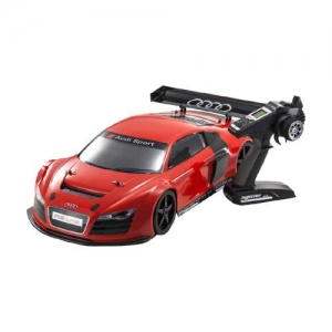 AB Kyosho Inferno GT2 VE Audi R8 LMS Brushless rot RTR 2,4 GHz