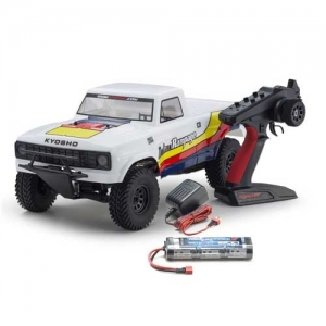 AB Kyosho Outlaw Rampage Truck weiss 1:10 2WD RTR 2,4 GHz