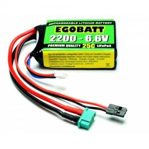 LiFe Egobatt 2er 6,6/2200 25C JR/MPX