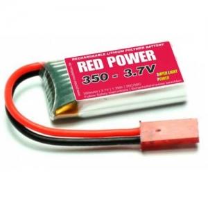 LiPo Red Power SLP 1er 3,7/350