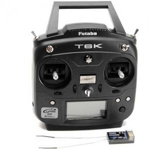 Set Futaba T6K V2.0 8-Kanal T-FHSS+R3006SB 2,4 GHz