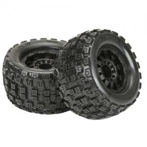 Reifen Proline Badlands MX38 3.8 auf Felgen