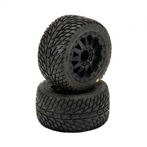 Reifen Proline Road Rage 2.8 auf Felgen Traxxas Style 1:10