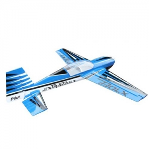 BK Pilot-RC Extra 330LX 103% blau mit Streifen 2610 mm