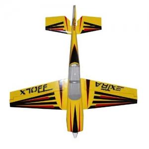 BK Pilot-RC Extra 330LX 103% gelb mit Streifen 2610 mm