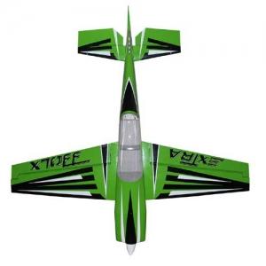 BK Pilot-RC Extra 330LX 92% grün mit Streifen 2340 mm