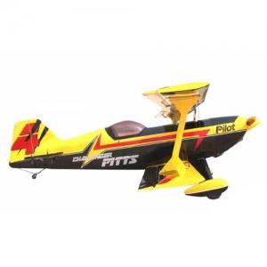 BK Pilot-RC Pitts Challenger 73% gelb/rot/schwarz 1856 mm