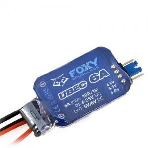 FOXY Extern UBEC 6A 2-6S