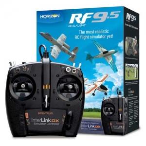 Flugsimulator RealFlight 9.5 Simulator InterLink DX-Controller