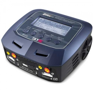 Lader SkyRC D100 V2 AC/DC 230/12V DUO LiPo 1-6s 10A 2x100W