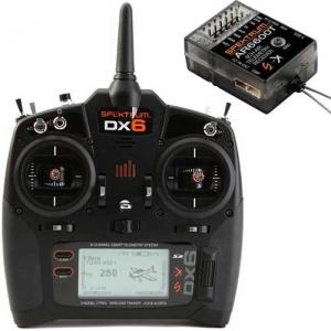 Set Spektrum DX6 G3 Multi Mode AR6600T Empfänger 2,4 GHz