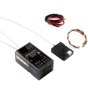 Empfänger Spektrum AR9320T 9K 2,4 GHz Telemetrie Carbon
