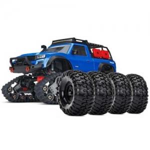 AB Traxxas TRX-4 Traxx All-Terrain blau Crawler mit Reifen-Set 4WD 2,4 GHz