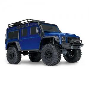 AB Traxxas TRX-4 Land Rover Defender Crawler blau 4WD 2,4 GHz