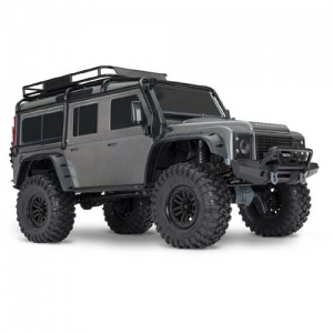 AB Traxxas TRX-4 Land Rover Defender Crawler silber 4WD 2,4 GHz