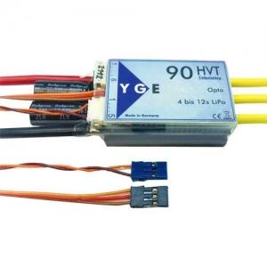 Brushless Regler YGE 90 HVT Opto Telemetrie 2-12s